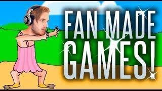 I PLAY FAN MADE GAMES! - PewDuckPie, PewDie Flap.