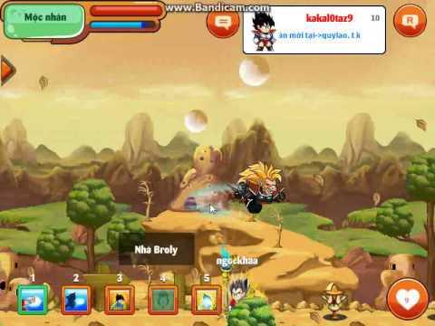 Học skill biến hình khỉ đột Level 2 - 7 Ngọc Rồng Online