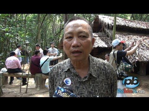 Nói chuyện với cựu Thiếu uý TQLC Nguyễn Ngọc Lập ở Địa Đạo Củ Chi