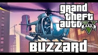 GTA 5 BUZZARD Como Conseguir Um Helicoptero De Ataque