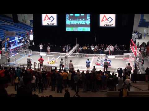 2014 FRC Silicon Valley Regional Semifinal Match 1-2