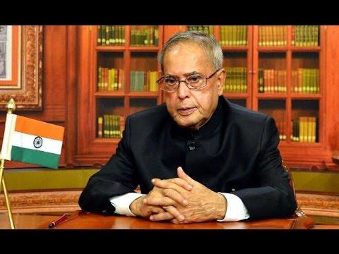 President Pranab Mukherjee Lists Out Modi Govt's Priorities