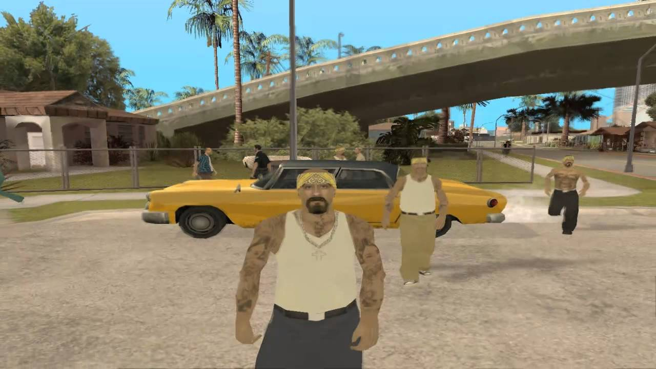 Displaying 18 gt  Images For - Gta 5 Ballas Vs Grove Street   Gta San Andreas Ballas Vs Grove Street