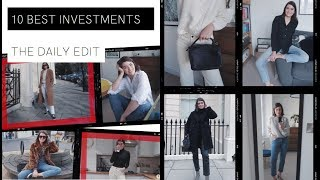 10 Best Style Purchases I've EVER Made | THE DAILY EDIT | The Anna Edit
