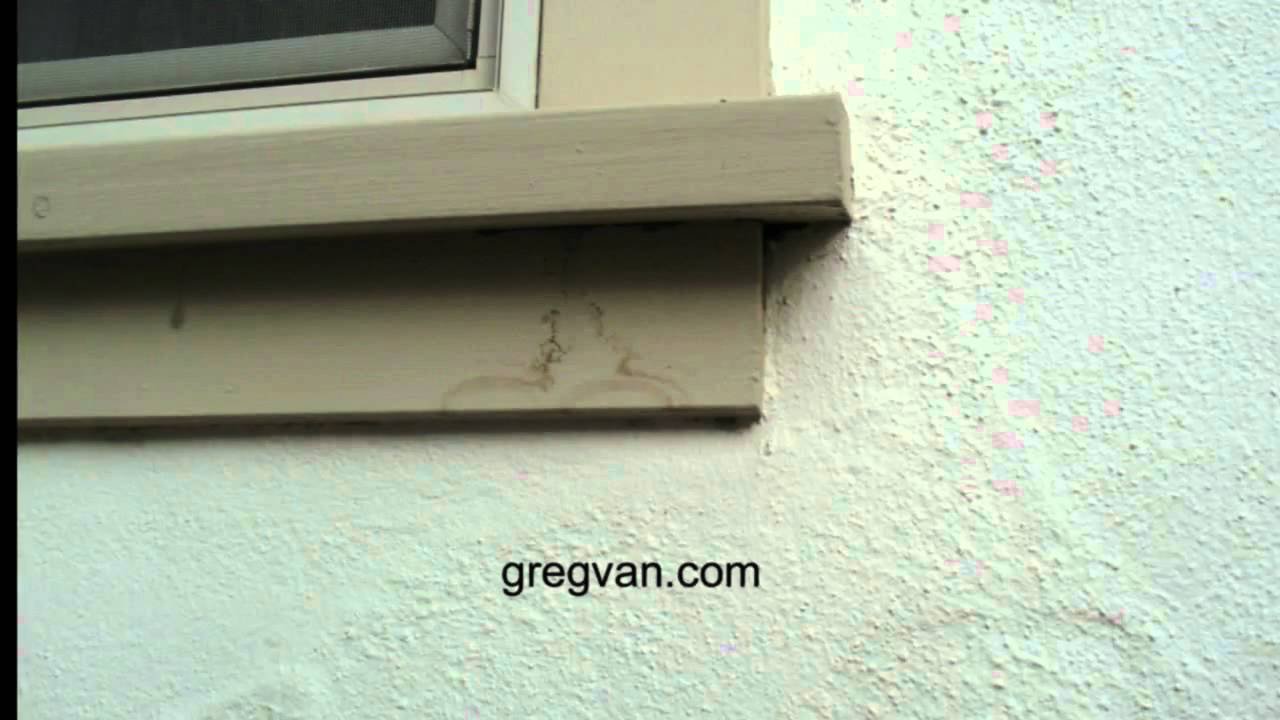 wood window sill stains exterior house maintenance tips youtube