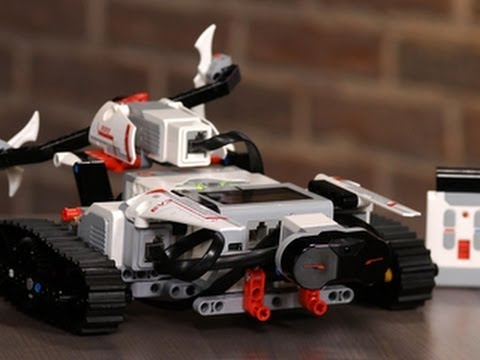 Building a robot with Lego Mindstorms EV3