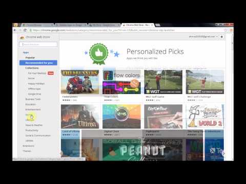 Google Chrome Applications -Introduction