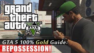 GTA 5 Walkthrough: Repossession (100% Gold Completion) HD