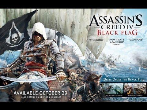 Рекламный CGI-ролик Assassin's Creed 4 Black Flag