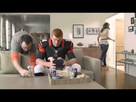 "Pepsi and Cincinnati Bengals Andy Dalton TV Ad - Smells Like Tiger ""Are You Fan Enough?"""