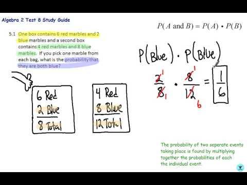 Alg 2 TAP Test 8:  Probability