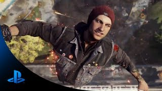 InFAMOUS Second Son E3 Trailer (PS4) E3 2013