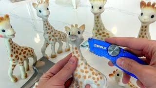 What's inside Sophie the Giraffe?