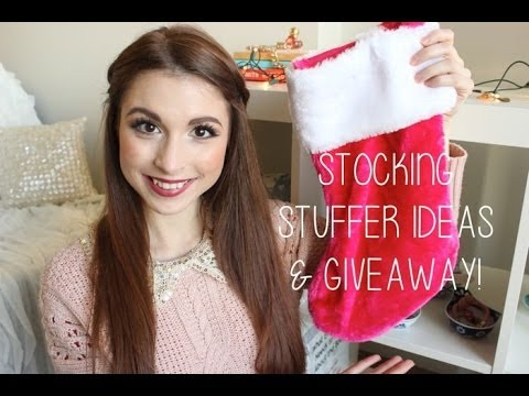 Stocking Stuffer Ideas & Giveaway!!!