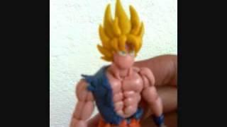 Goku SS1 En Plastilina