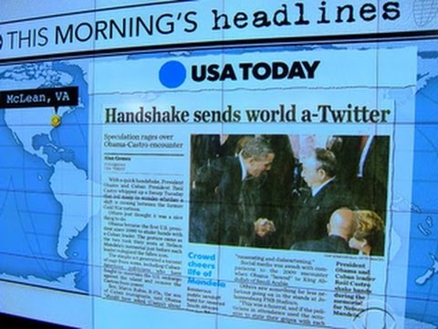 Headlines: Obama, Castro handshake not planned