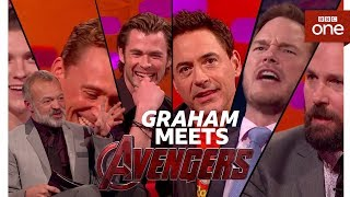 Graham Norton meets THE AVENGERS - The Graham Norton Show - BBC One