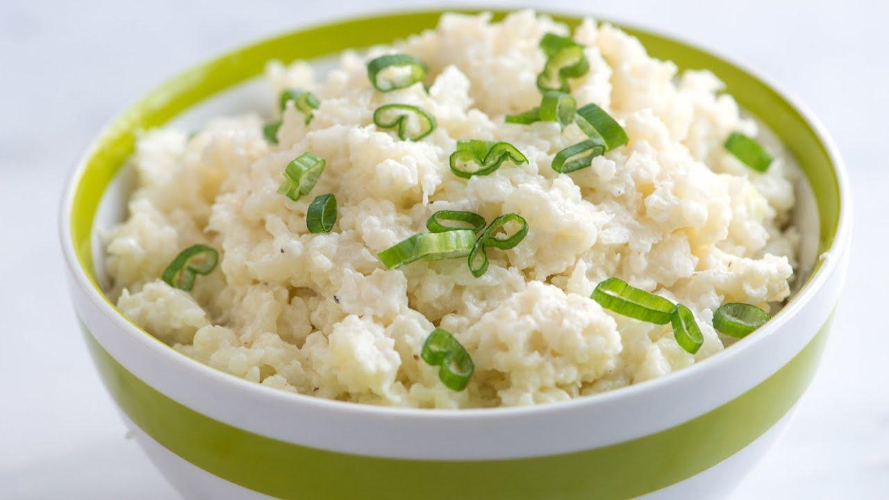 ... Make Creamy Mashed Cauliflower - Simple Cauliflower Recipe - YouTube