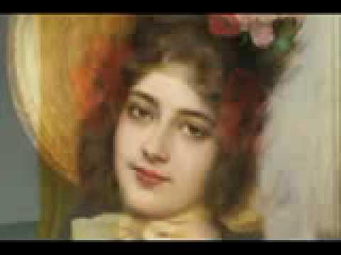 Rostros de mujeres en las pinturas de arte