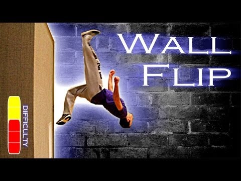 Free Running Flip How To WALL FLIP - Fre...