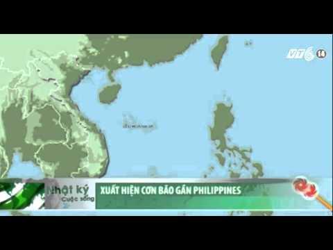 VTC14_Xuất hiện cơn bão gần Philippines