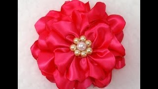 Quick And Easy Fabric Flower Tutorial, DIY, How To Make