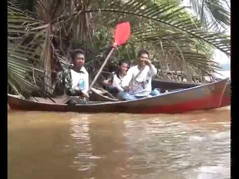 Mancing Udang Sungai Bemban, Kubu Raya, Kalbar