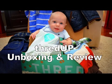 Baby thredUp Unboxing & Review | Huge Baby Haul of Name Brand Clothing