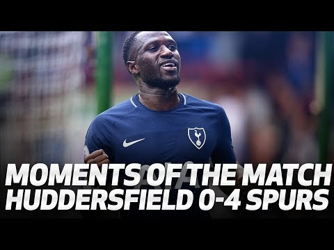 MOMENTS OF THE MATCH | Huddersfield Town 0-4 Spurs