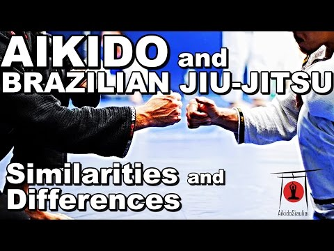 Brazilian Jiu-Jitsu and Aikido - Similarities and Differences - Interview with Aikido/BJJ Black Belt