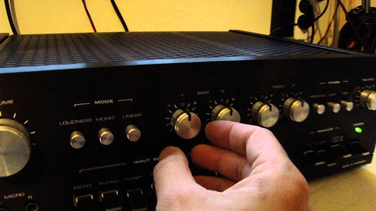 dual cv 1400 amplifer test youtube. Black Bedroom Furniture Sets. Home Design Ideas