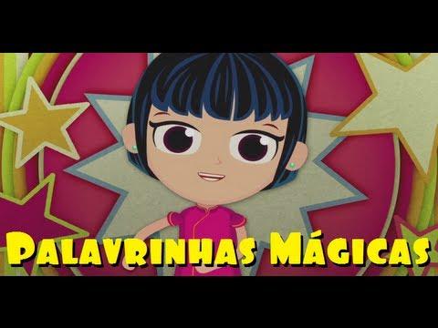 Palavrinhas Mágicas - DVD Infantil A Turma do Seu Lobato Volume 1