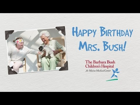 Barbara Bush Birthday Cards