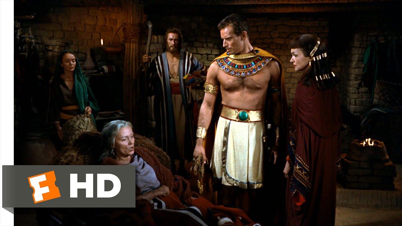 The Ten Commandments (5/10) Movie CLIP - Moses Meets His Real Mother ...