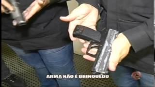Arma n�o � brinquedo - Alterosa em Alerta 02/03/15