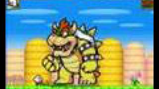 Kirby VS Bowser