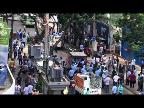 Sài Gòn biểu tình chống Formosa ngày 5/1 bị Công An, an ninh đàn áp đánh đập.
