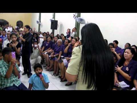 sofia cardoso cantando ao vivo Pai fala comigo   Manaus