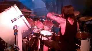 ARCH ENEMY - Daniel Erlandsson Live Drum Cam Footage