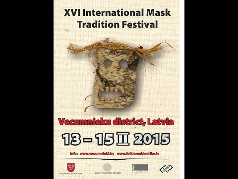 XVI International Mask Tradition Festival, 2015. Mask conference, Day 1.