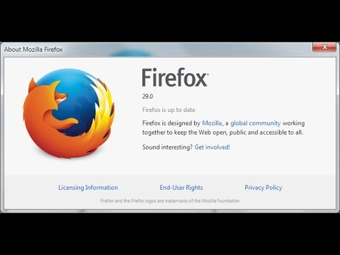 New FireFox 29 Web Browser Release - What's New