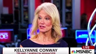 Kellyanne Conway: Sometimes Trump Lies Because He Doesn't Know the Truth, Okay?