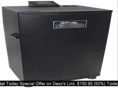 Masterbuilt 20070910 30-Inch Electric Smokehouse Smoker Bla