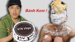NTN - Thử Đập Bánh Kem Vào Mặt ( Pie In The Face )