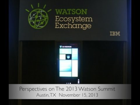 IBM Watson Summit Overview 11:15:2013 V3