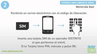 Liberar Motorola RAZR, Desbloquear Motorola RAZR