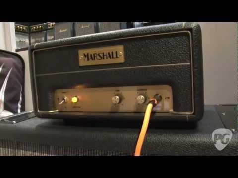 NAMM '12 - Marshall Amplification 50th Anniversary JTM1, JMP 1, JCM 800, DSL 1, and JVM 1 Demos