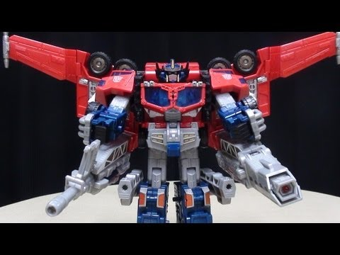 Cybertron Leader OPTIMUS PRIME: EmGo's Transformers Reviews N' Stuff