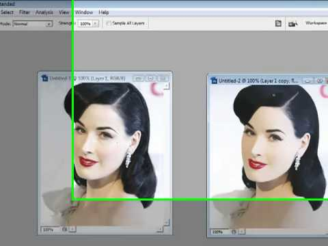 Pin-Up Effect In Photoshop CS3