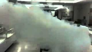 Robo a banco alarma de humo